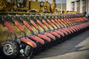 Uitzonderlijk in ons gamma: 40 motoculteurs spitfrezen