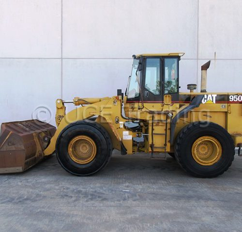 CATERPILLAR 950F wheelloader