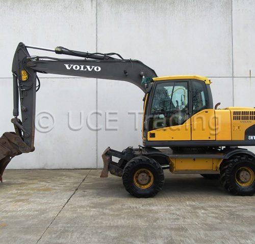 VOLVO EW160C mobile excavator