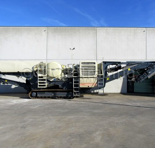 METSO LOKOTRACK LT106 mobile jaw crusher