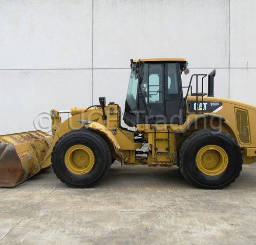 CATERPILLAR 950H chargeur sur pneus
