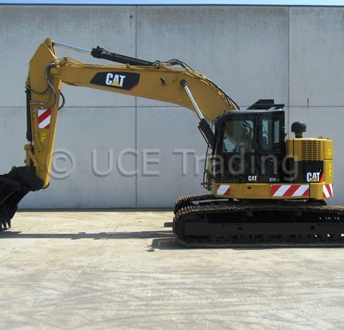 CATERPILLAR 321D LCR tracked excavator