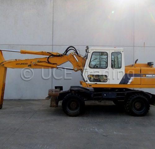 HYUNDAI ROBEX 200W-2 mobile excavator