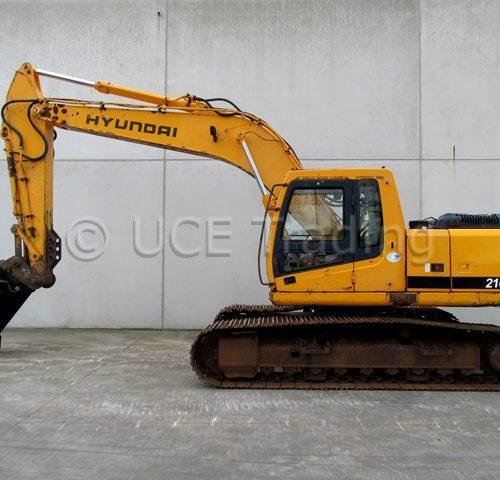 HYUNDAI ROBEX 210LC-7 tracked excavator