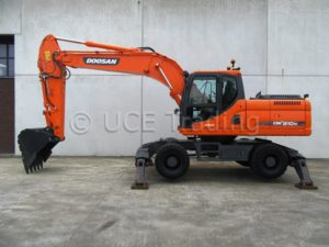 DOOSAN DX210W, 2013, FOR SALE