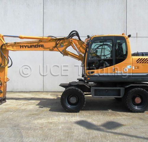HYUNDAI R140W-9 mobile excavator