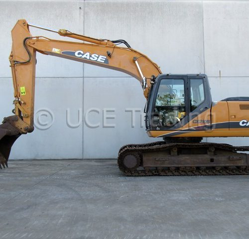 CASE CX210B tracked excavator