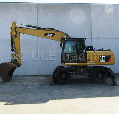 CATERPILLAR M318D mobile excavcator