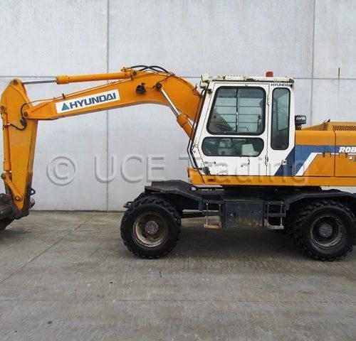 HYUNDAI ROBEX 120W mobile excavator