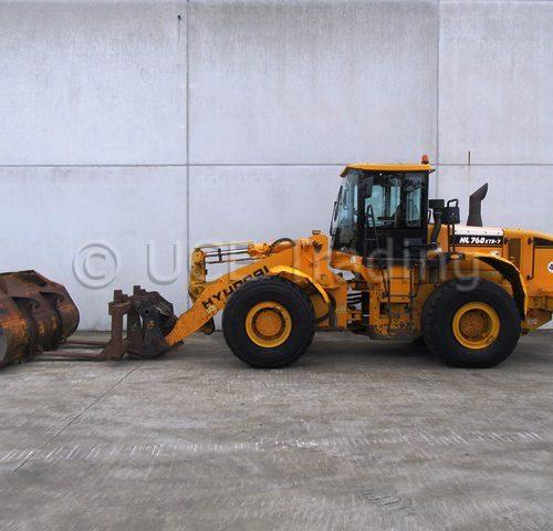 HYUNDAI HL760XTD-7 chargeuse sur pneus