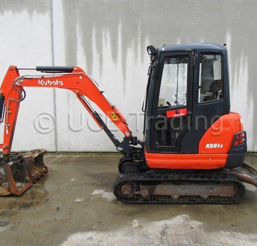 KUBOTA KX61-3 mini-excavator